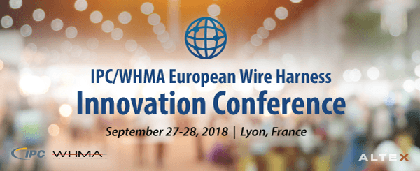 ALTEX to Attend Second Annual IPC/WHMA European Wire Harness Innovation Conference